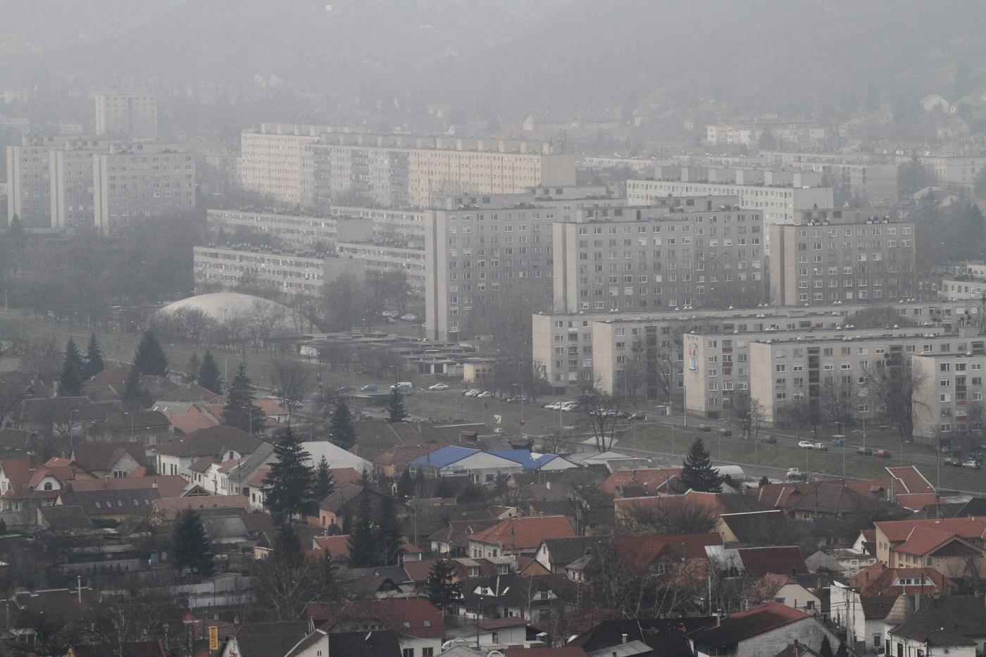Nőtt a szálló por miatti légszenyezettség