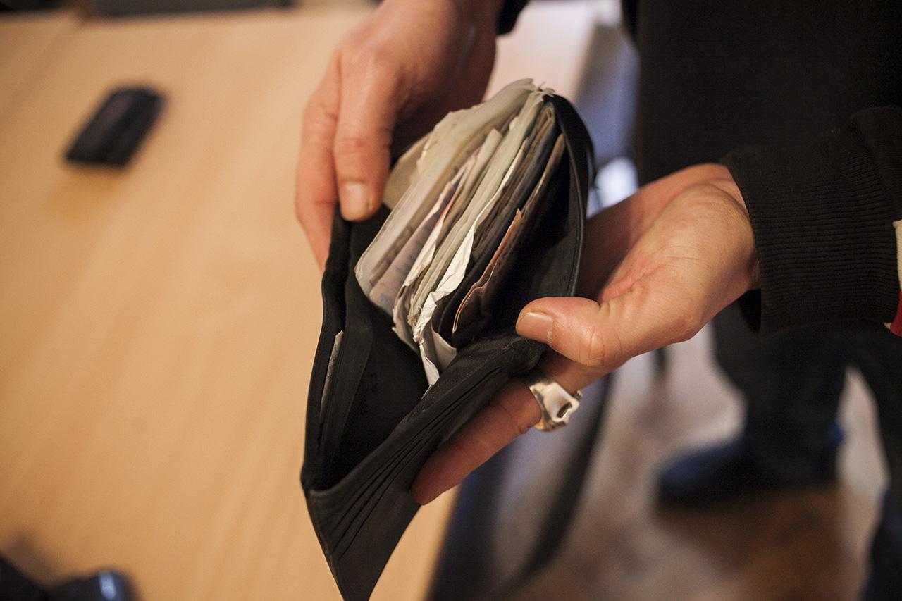 200 ezer forintot talált a piacon egy okmány nélküli tárcában, leadta a piacigazgatóságnál