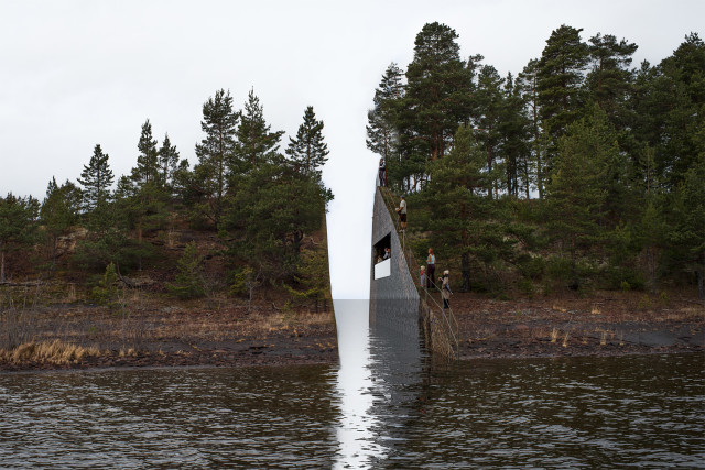 Lehet, hogy mégsem vágják ketté a szigetet, ahol Breivik 77 embert gyilkolt meg
