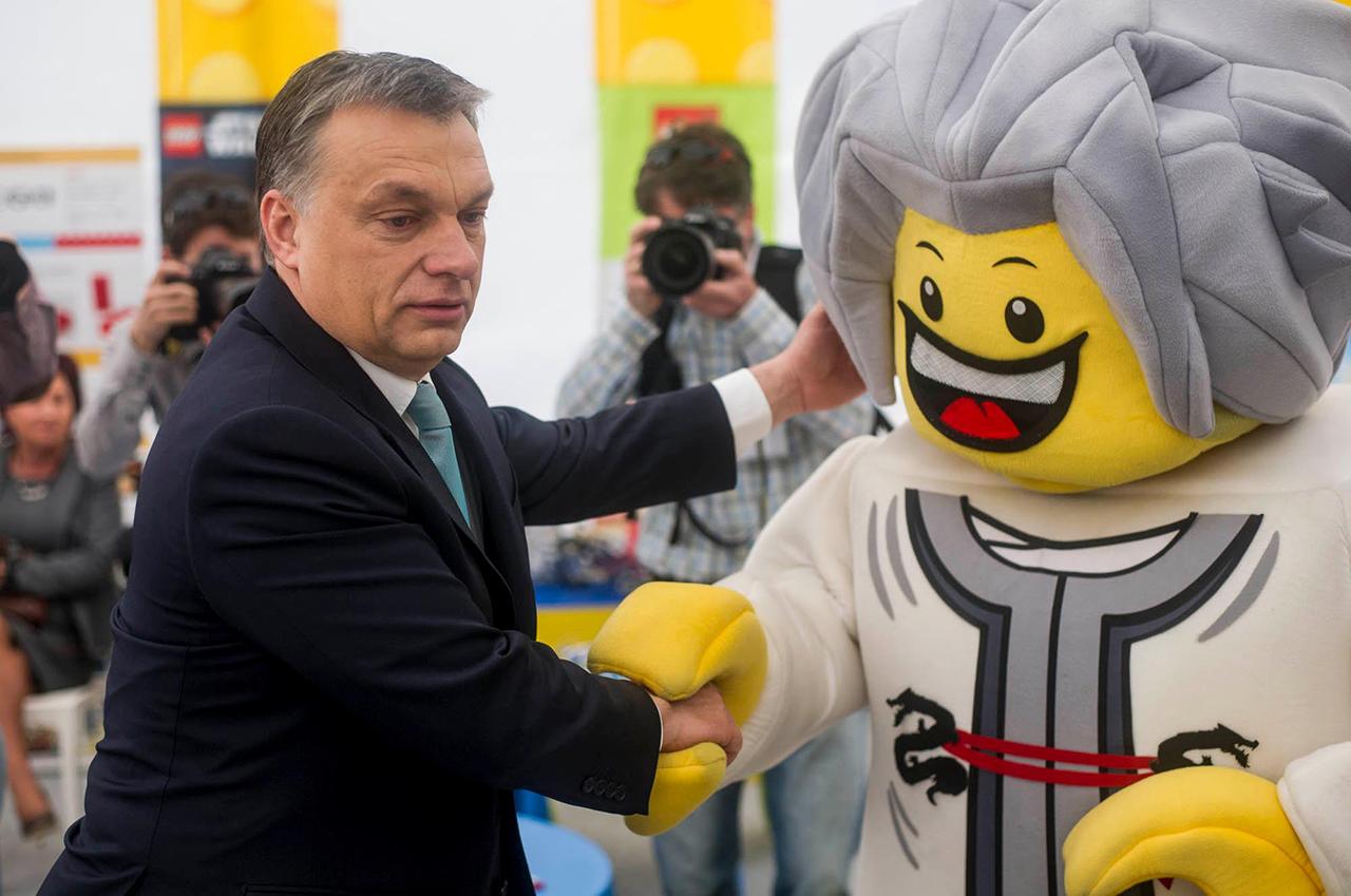Blöff a nyíregyházi Legoland
