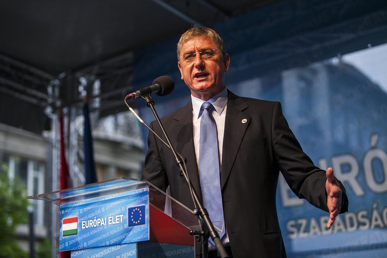 """Gyurcsány: """"Nyitva az út a Fidesz veresége felé, a kormányzó párt 2014-ben 45 százalékot kapott, 2018-ban harmincvalamennyit fog"""""""