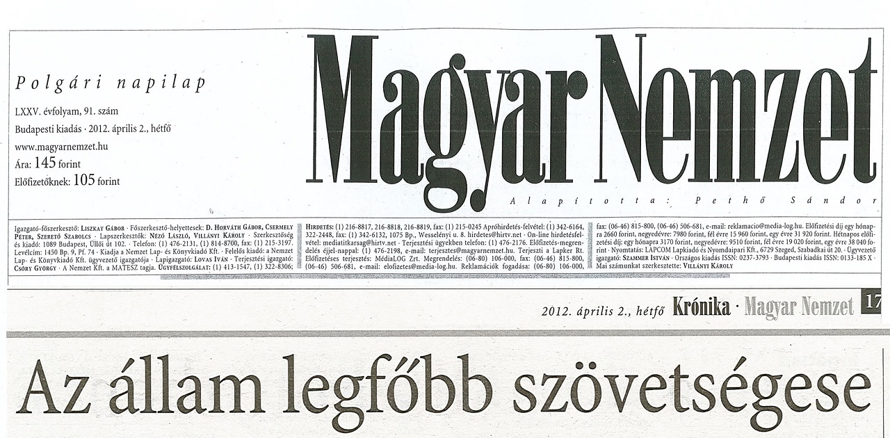 Orbánék K.O.-val ütik ki Simicskát a médiából, a G-napon lesz újra Magyar Nemzet a Magyar Időkből
