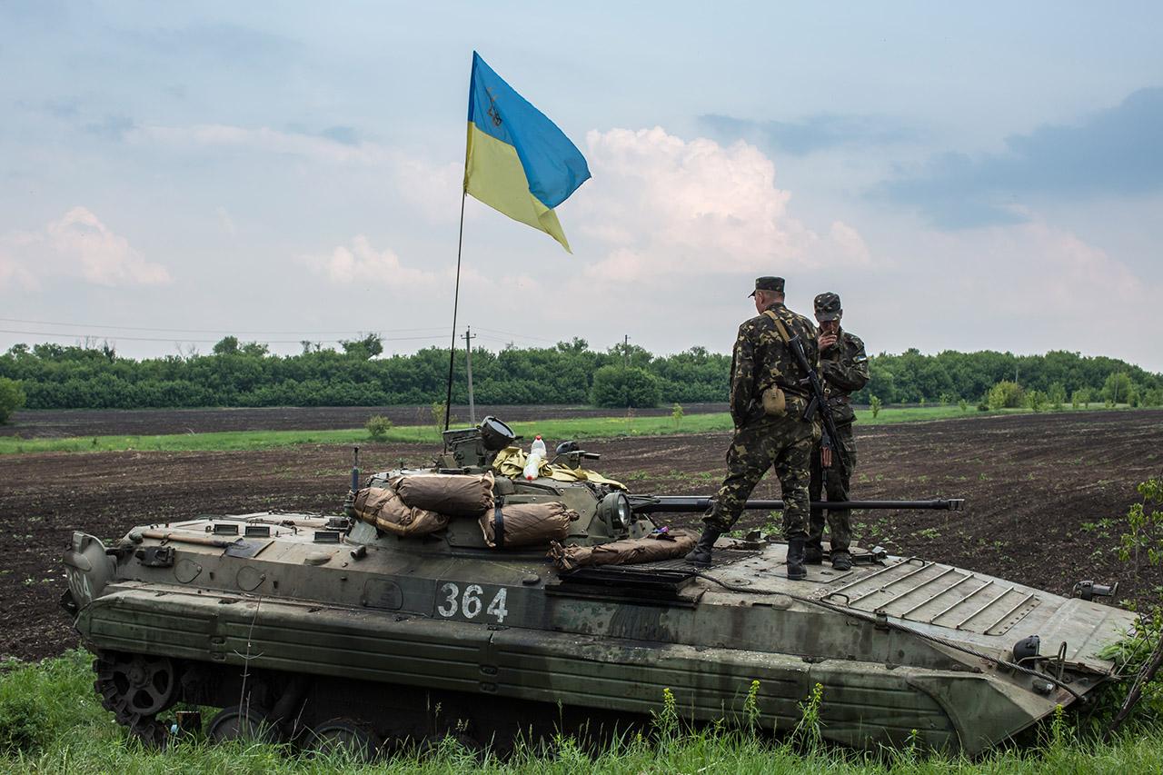 Az ukrán nemzeti gárda 500 gránátvetőt kapott az USA-tól