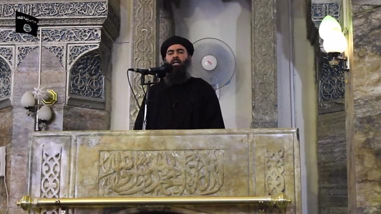Kilőtték Abu Bakr al-Baghdadi autóját