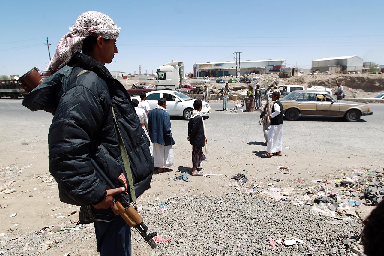 A jemeni lázadók azt állítják, hogy sikeresen lőttek ki rakétát a szaúdi fővárosra