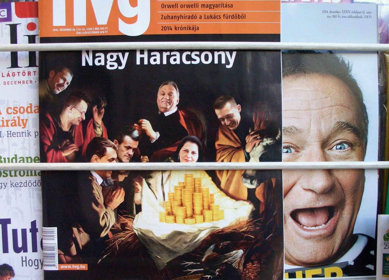 Másodfokon is pert nyert a HVG a karácsonyi címlap miatt pampogó volt fideszes ellen