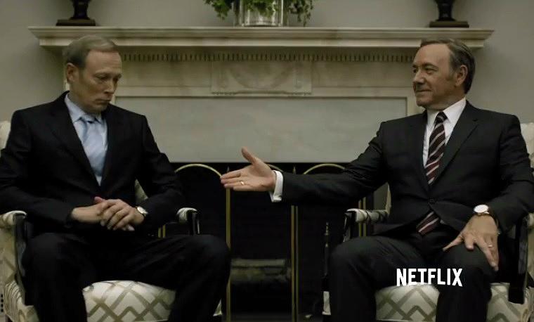 Kevin Spacey készített egy videót, amiben Frank Underwoodként reagál, miután szexuális visszaélések miatt vádat emeltek ellene