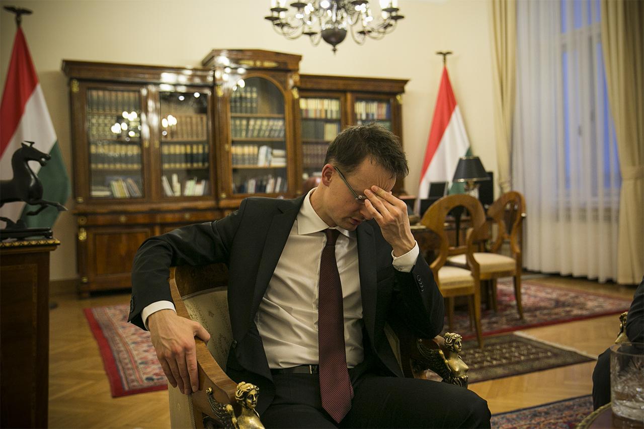 Szijjártó: Szíriában reménytelennek tűnik a helyzet