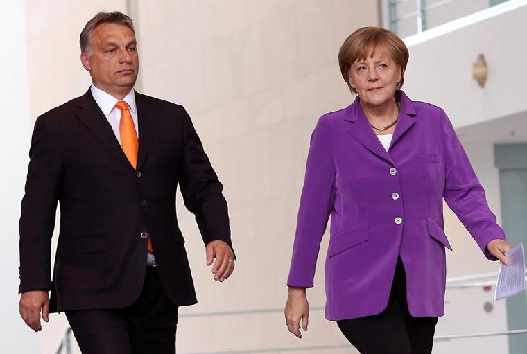 Angela Merkel már a telefont sem hajlandó felvenni, ha Orbán hívja