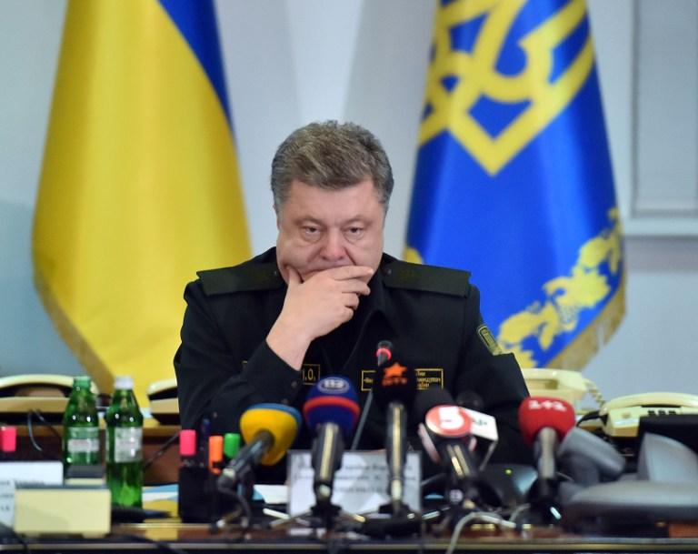 Porosenko: A Kreml előrehozott választásokkal akarja destabilizálni Ukrajnát