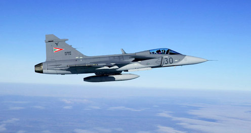 Magyar Gripenek is rárepültek orosz gépekre