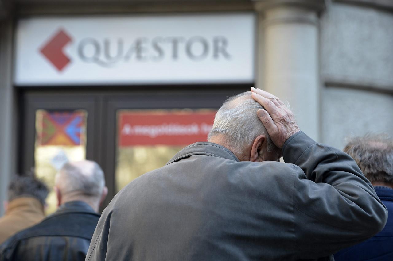 Végelszámolják a Quaestor bankját