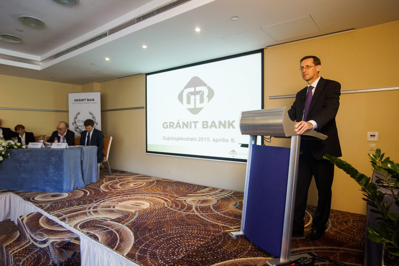 Eladta tulajdonrészét a Gránit Bankban a magyar állam