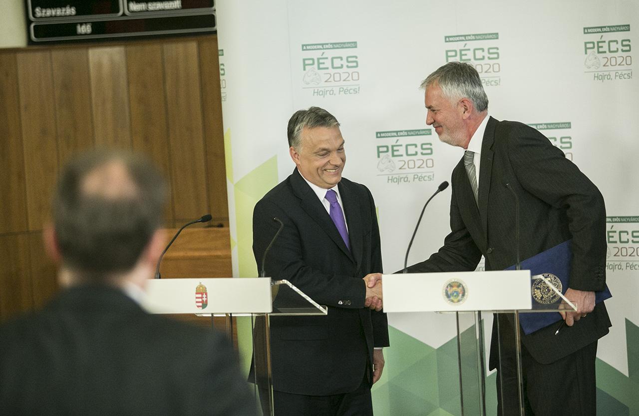 Tiborcz ismerőse építhet hotelt Pécs belvárosában