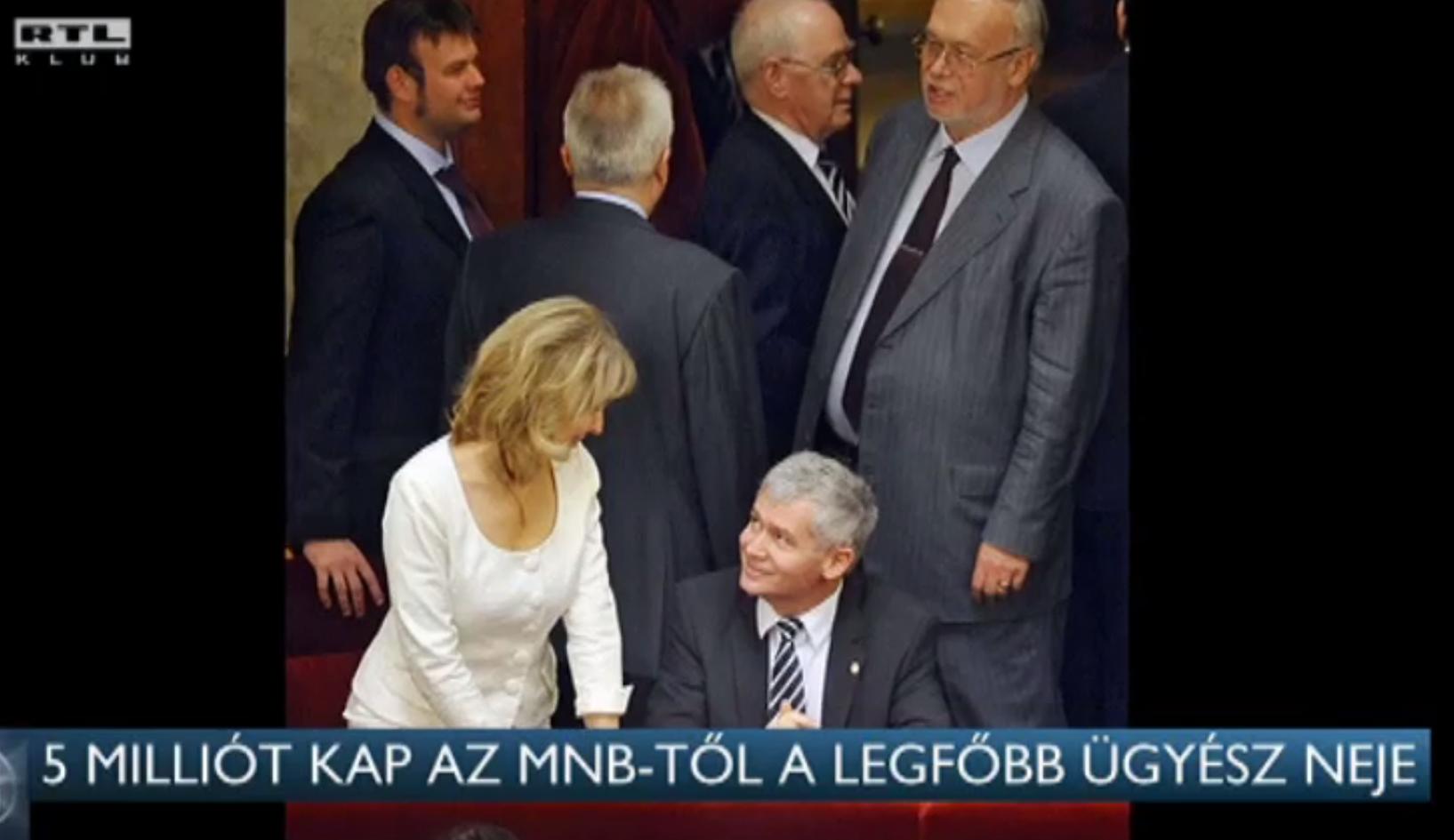 Orbán Viktor Polt Péter feleségét nevezte ki a Kormányzati Ellenőrzési Hivatal elnökhelyettesének