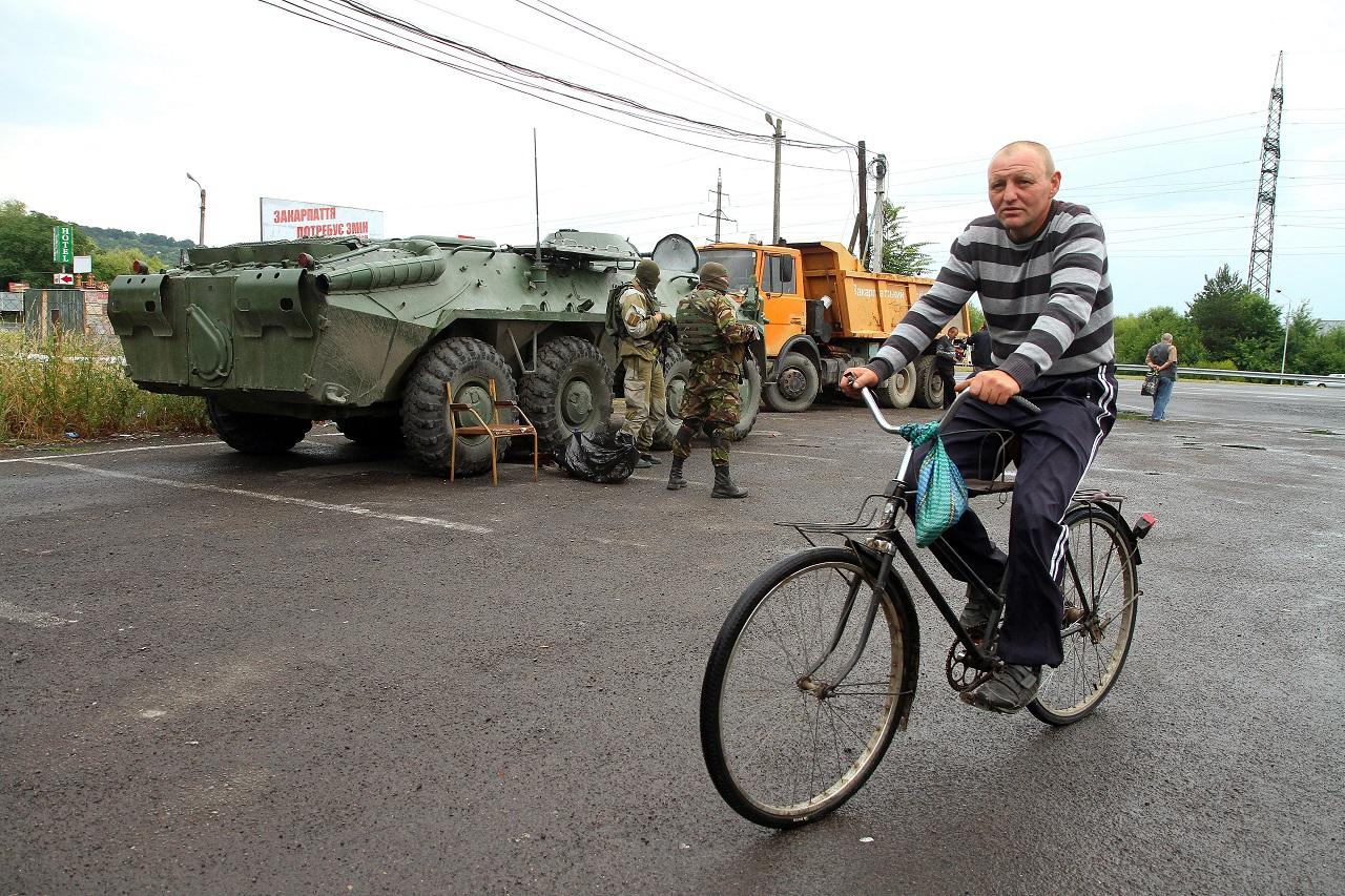 Az ukrán legfőbb ügyészség szerint terrorcselekmény volt a múlt nyári munkácsi lövöldözés