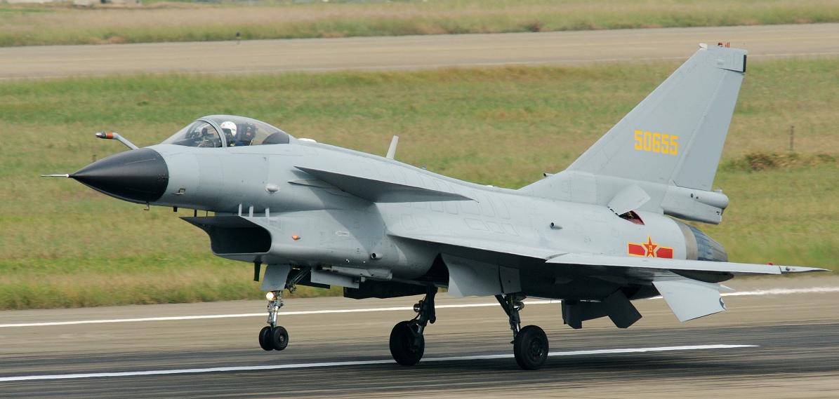 A tajvani légierő elriasztott egy légtérsértő kínai harci repülőgépet