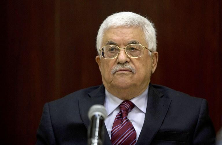 Abbász: A palesztinok nem ülnek tárgyalóasztalhoz az amerikai béketerv alapján