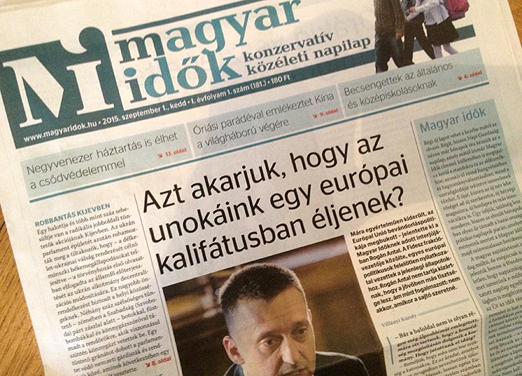 Újraindul a Magyar Nemzet, megszűnik a Magyar Idők