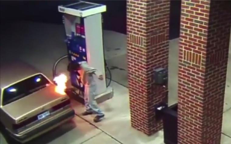 Megverték a benzinkutast, mert megpróbálta megakadályozni, hogy fizetés nélkül lépjenek le
