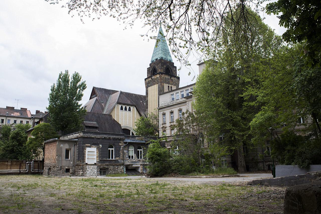 A Városliget mellett kapott kórházat a Magyar Művészeti Akadémia