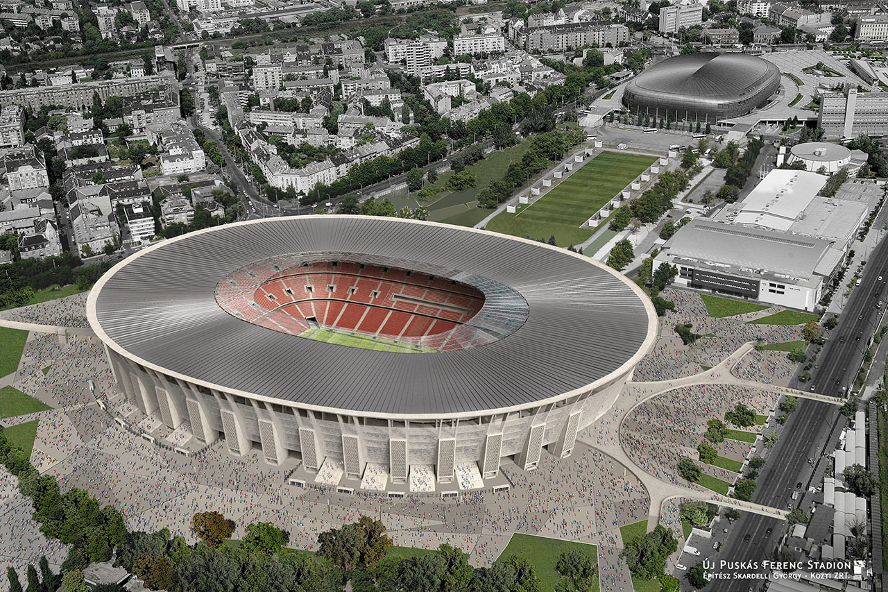 Minden trükköt bevetnek, hogy ne derüljenek ki részletek a 190 milliárd forintért épülő Puskás-stadionról