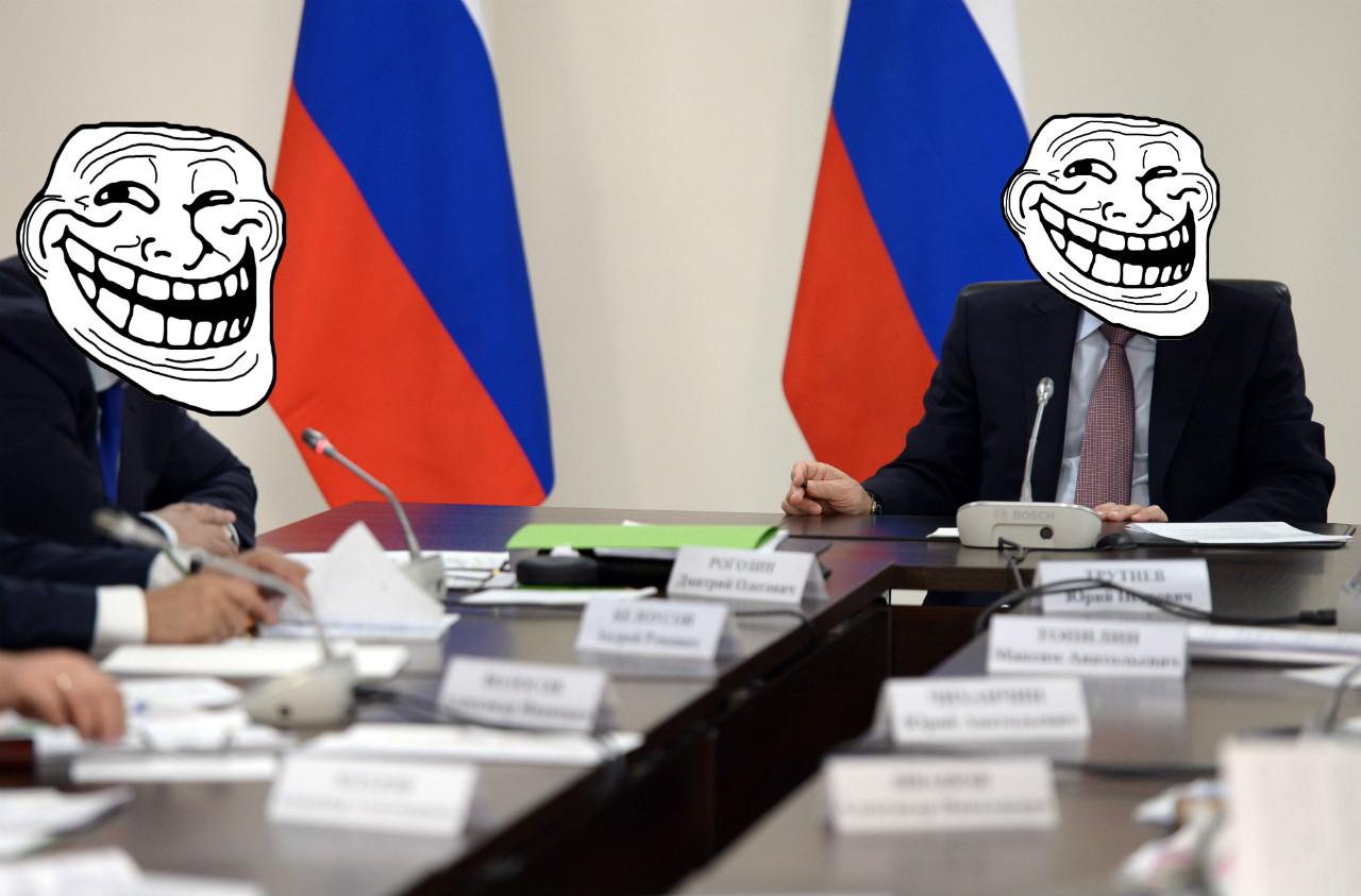 Oroszország, a világ trollja