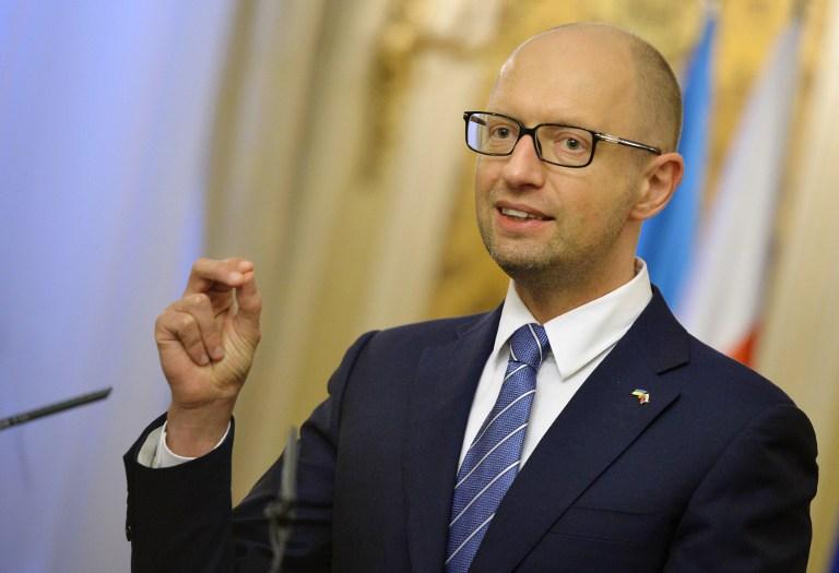 Lemond Arszenyij Jacenyuk ukrán miniszterelnök