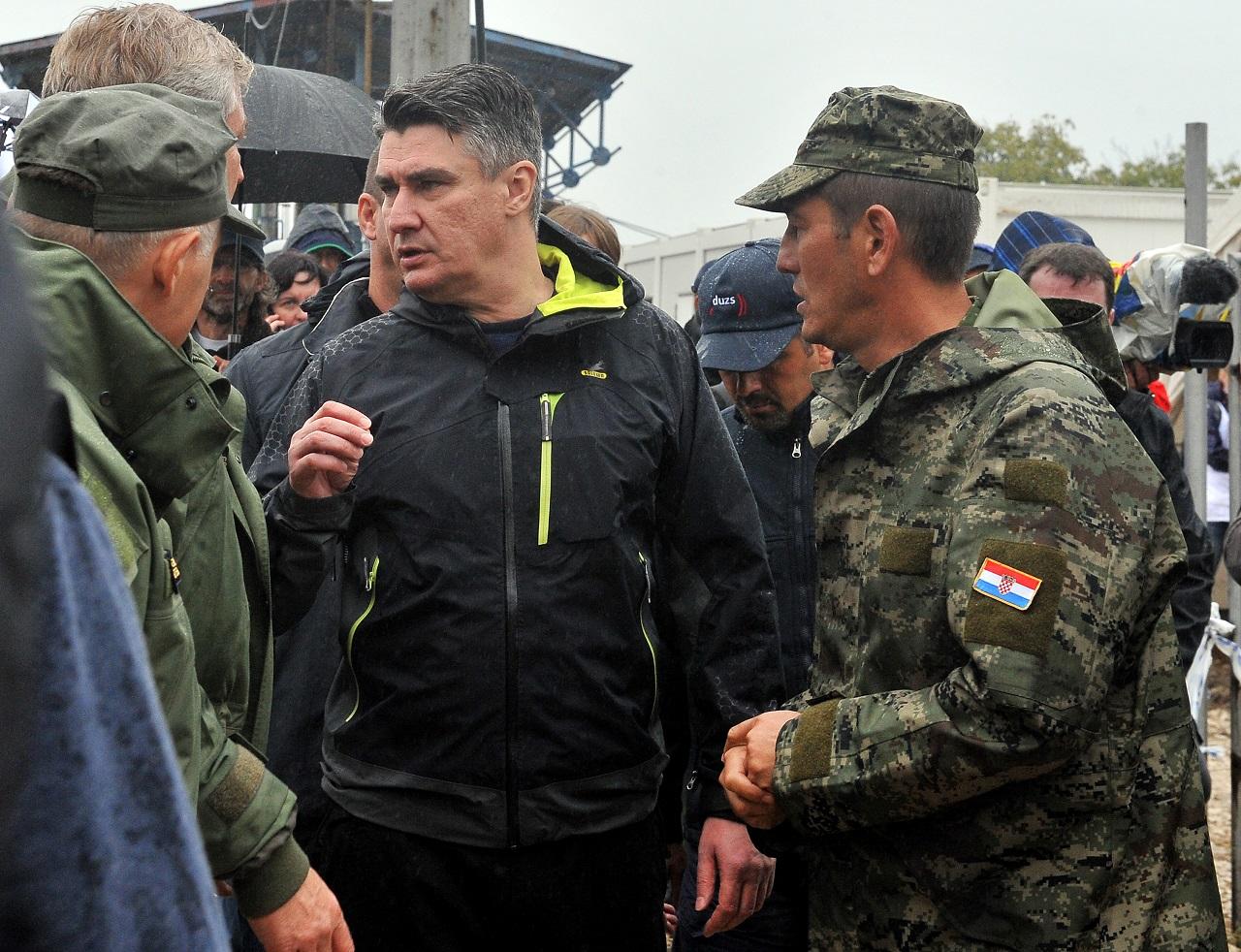 Milanovic szerint a magyarok káoszt akarnak okozni Horvátországban