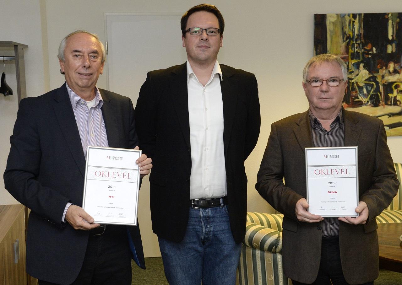 MagyarBrands-díjat kapott az MTI