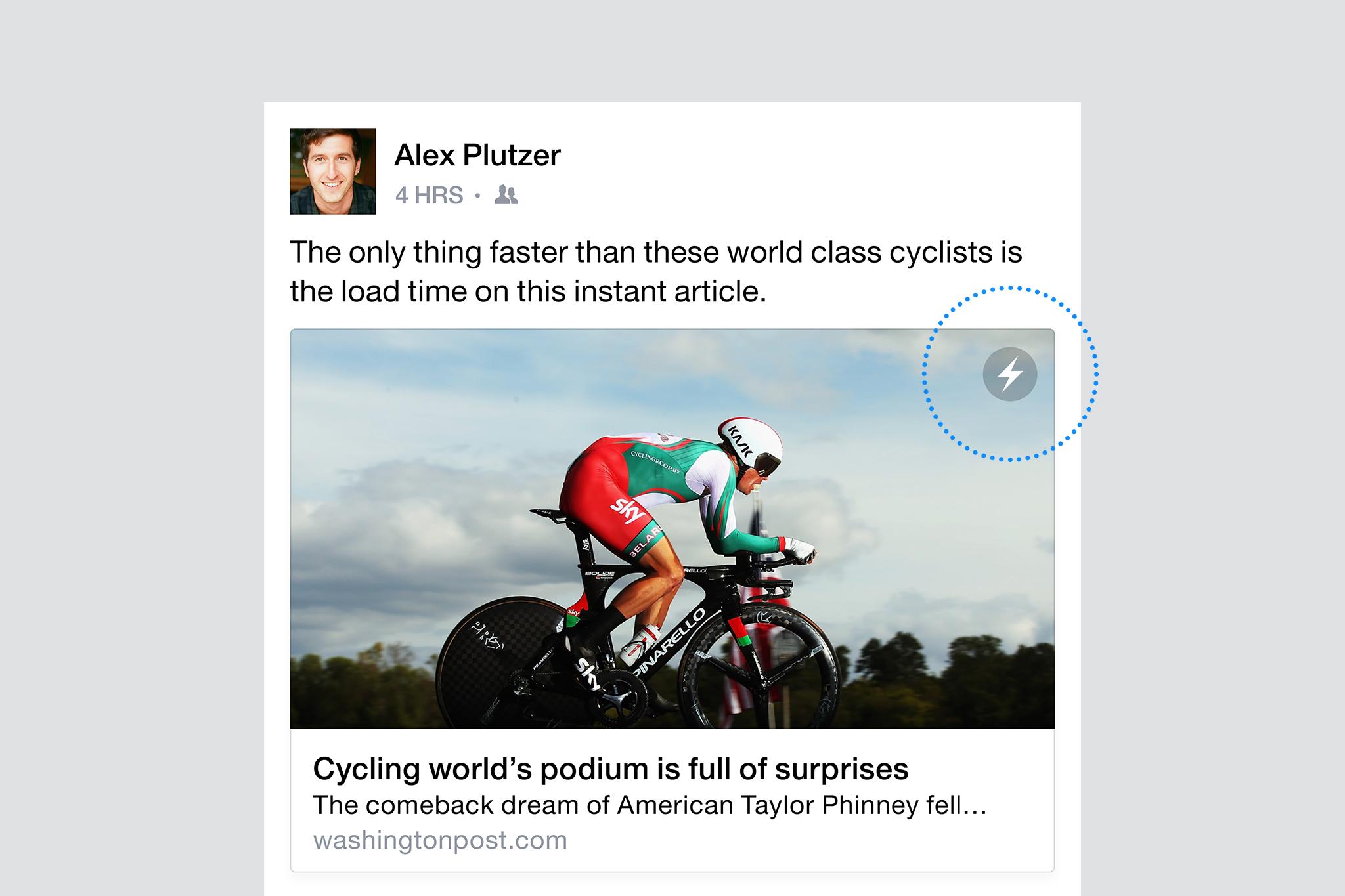 IPhone-on már olvashatóak a Facebook instant cikkei