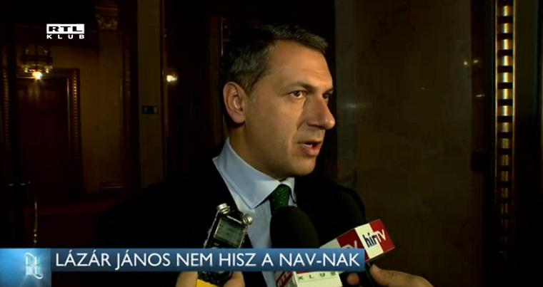 Lázár nem engedi el: hiába a NAV-döntés, szerinte bűnös az Ökotárs