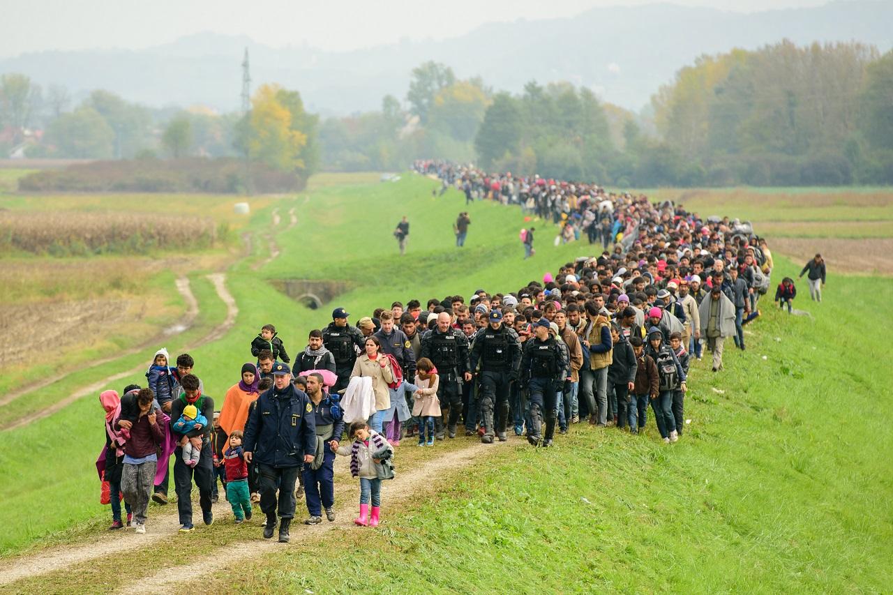 Megérkezett az idei egymilliomodik migráns Európába