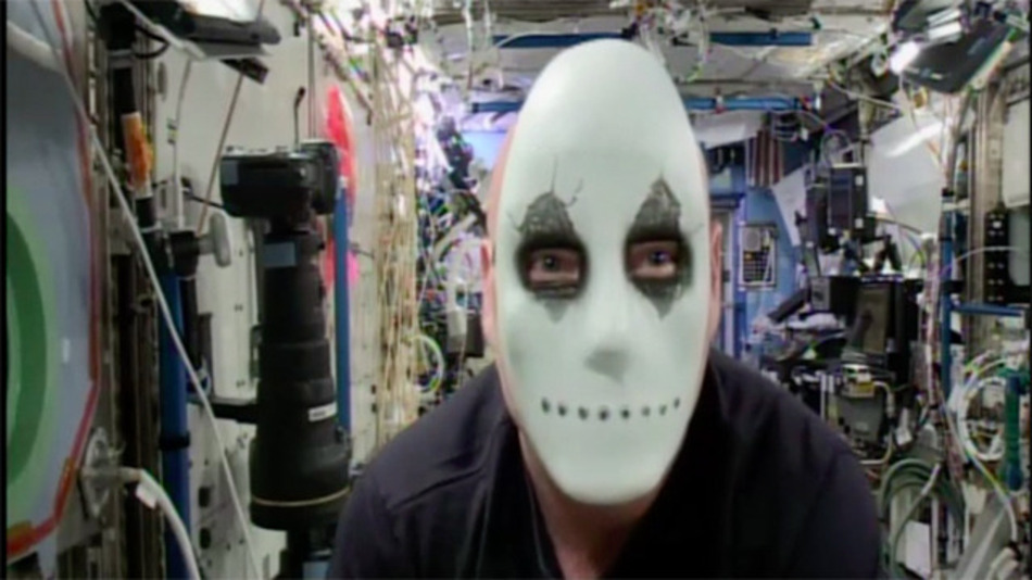 Idén az űrből jött a legfélelmetesebb halloweeni üdvözlet