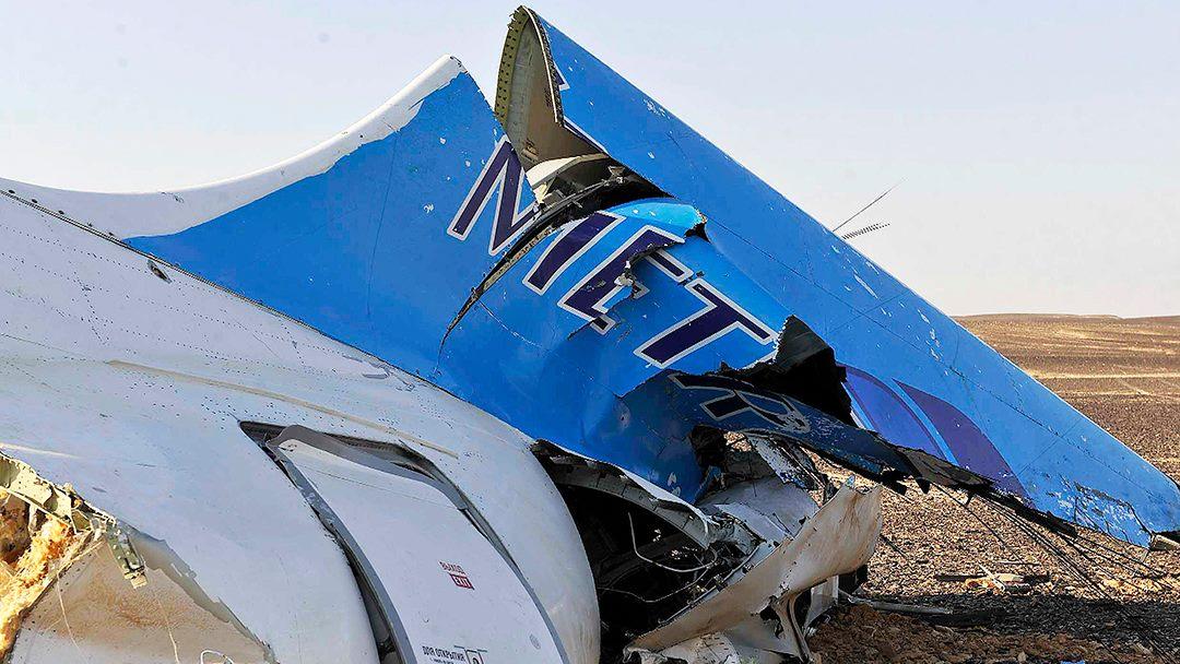 """Az orosz légitársaság szerint """"külső tevékenység"""" vezetett a Sínai-félszigeten lezuhant gép tragédiájához"""