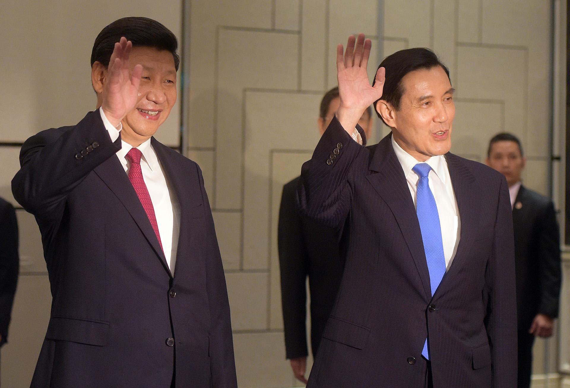 Túl van a történelmi randin Kína és Tajvan vezetője