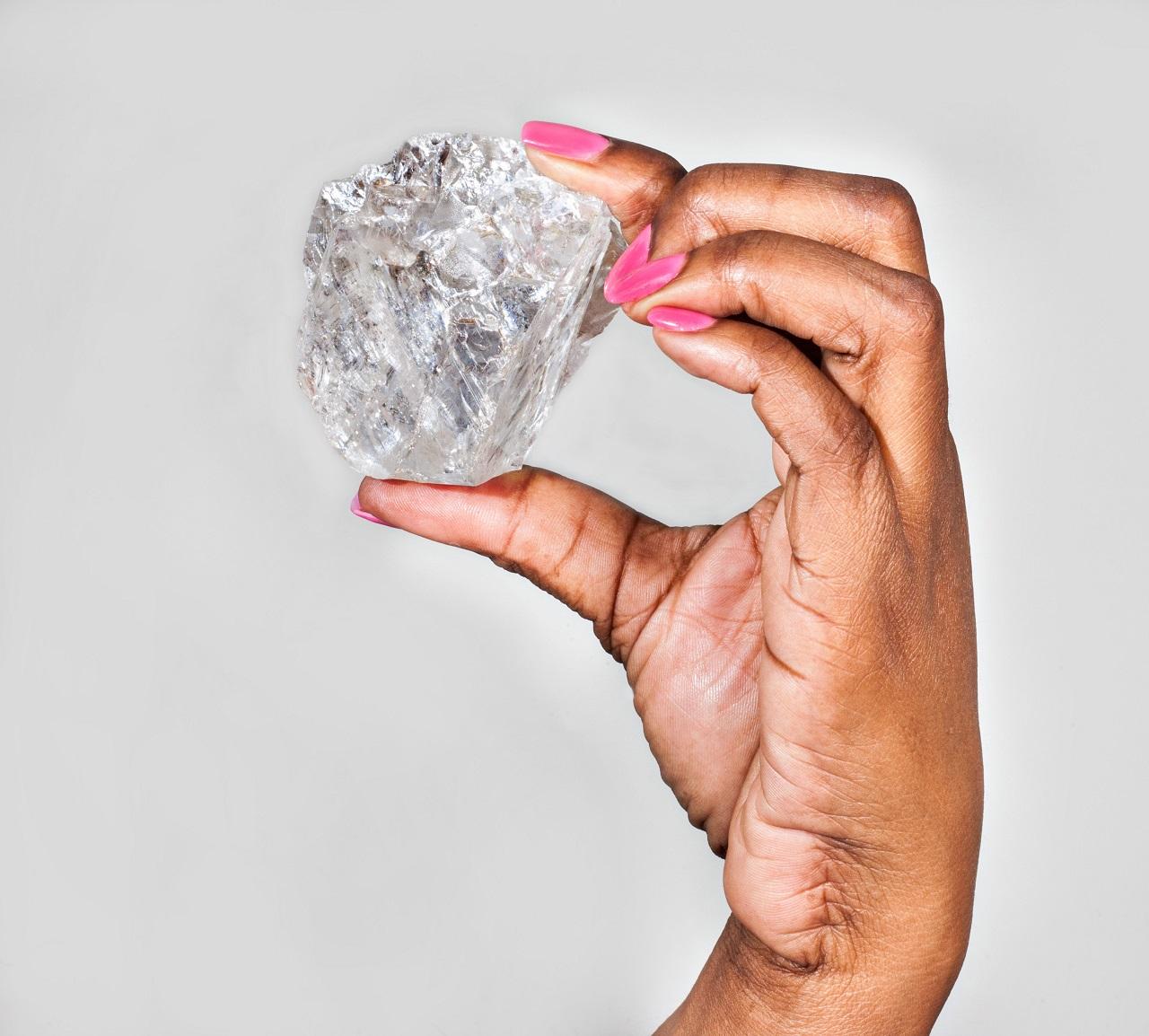 EKKORA gyémántot túrtak elő a földből Botswanában