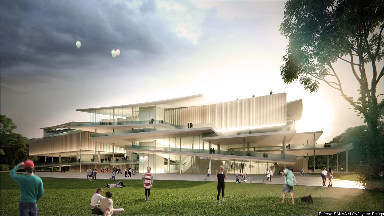 Ilyen lesz az Új Nemzeti Galéria