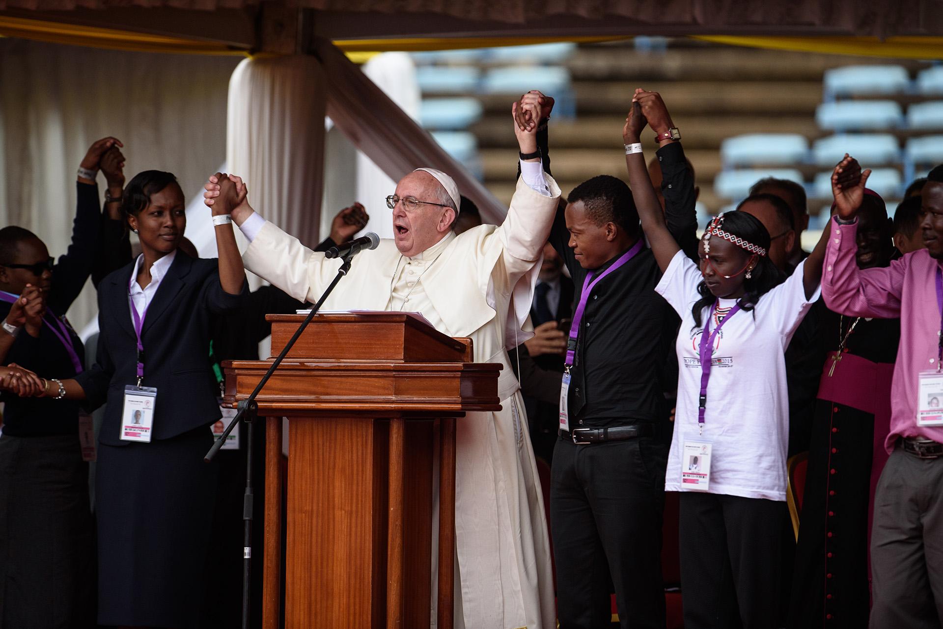 Ferenc pápa kiállt az óvszerhasználat mellett