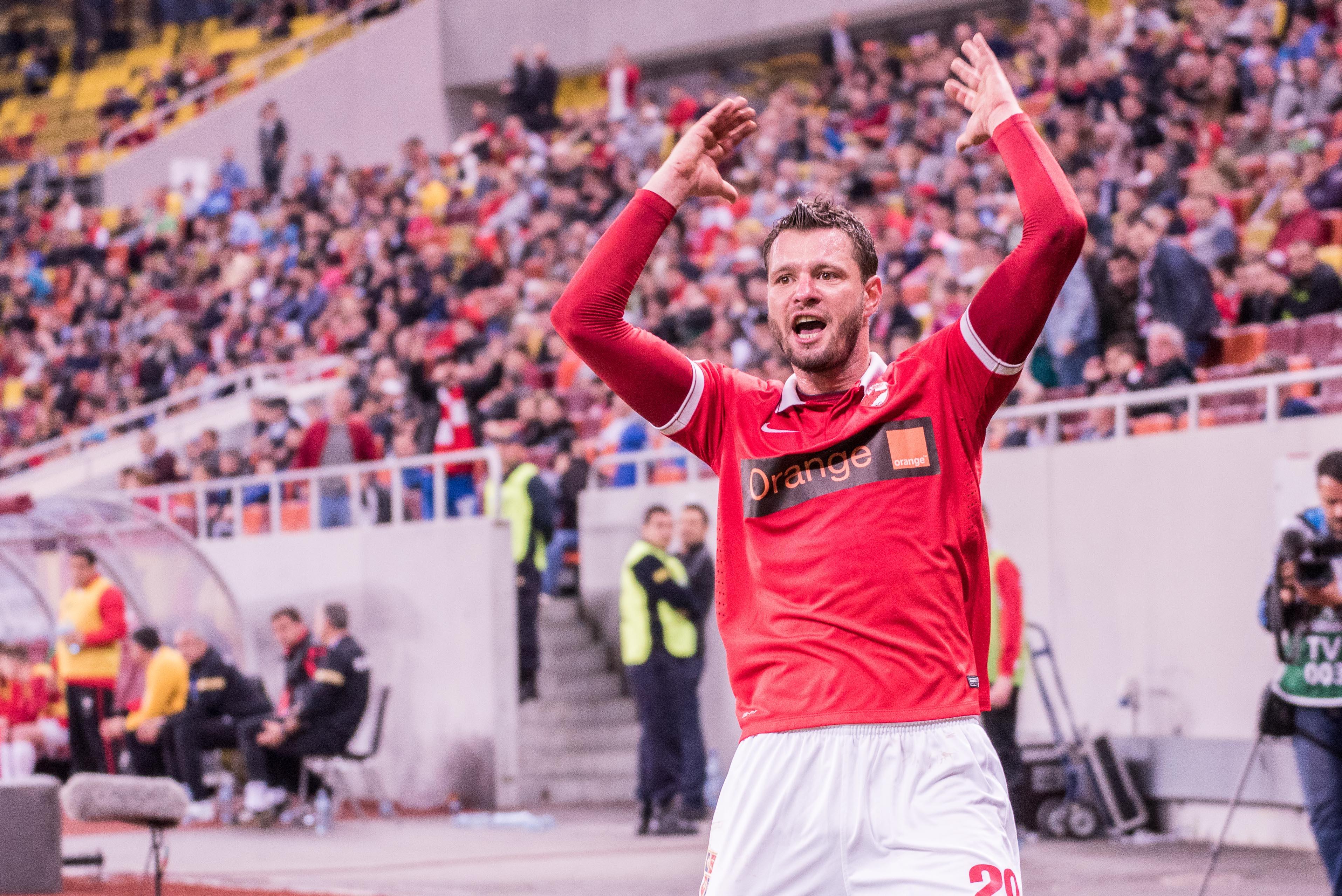 Magyarellenes skandálás miatt szakították félbe a Dinamo Bucuresti mérkőzését