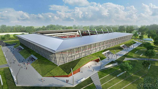 Fertőzött víz folyik a 14 milliárdos sóstói stadion csapjaiból