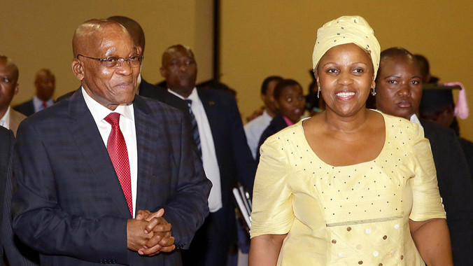 A dél-afrikai elnök tagadja, hogy kavart volna a nemzeti légitársaság elnöknőjével