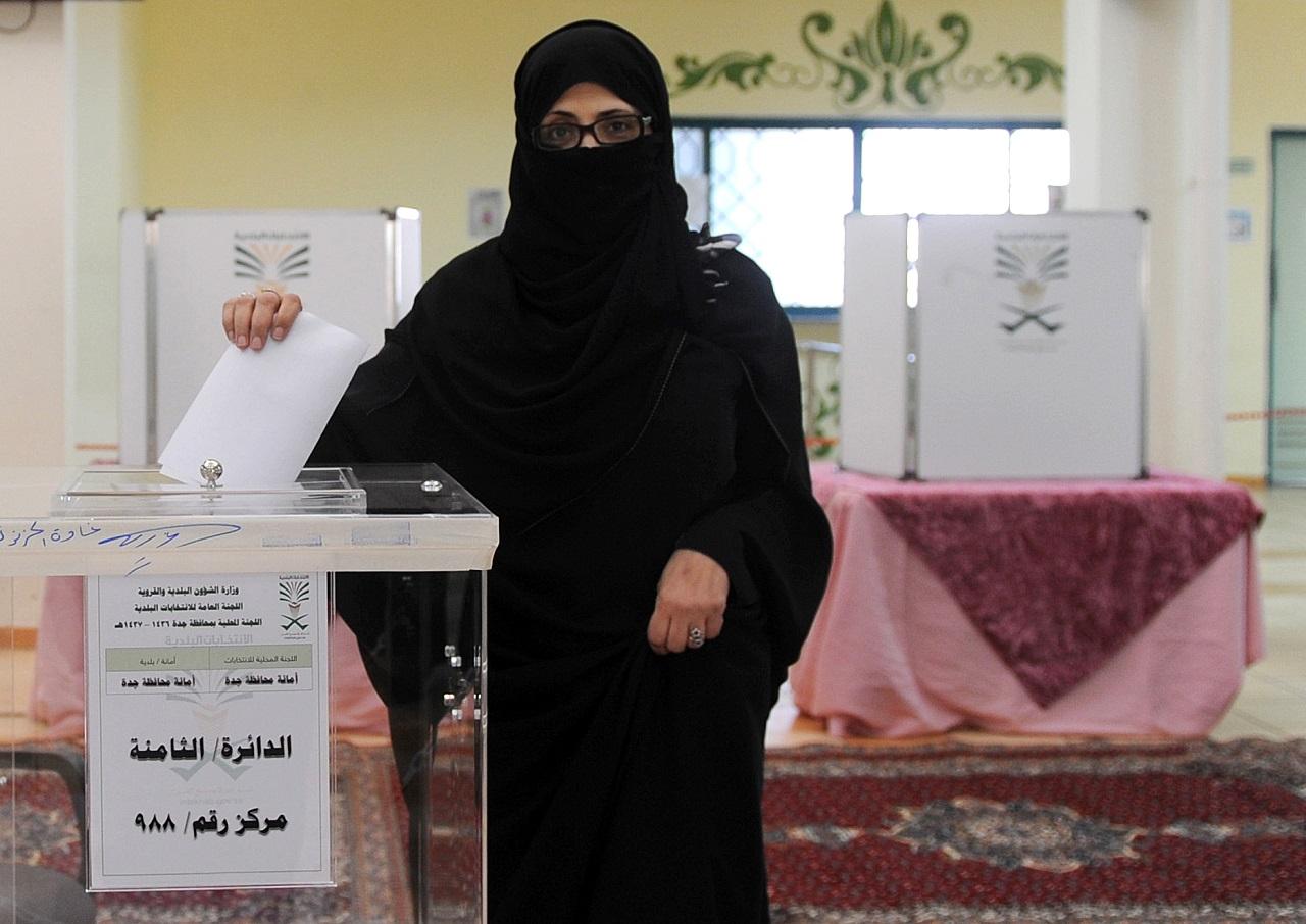 Hoppá-hoppá! Szaúd-Arábiában egy nő is bekerült egy települési önkormányzatba!