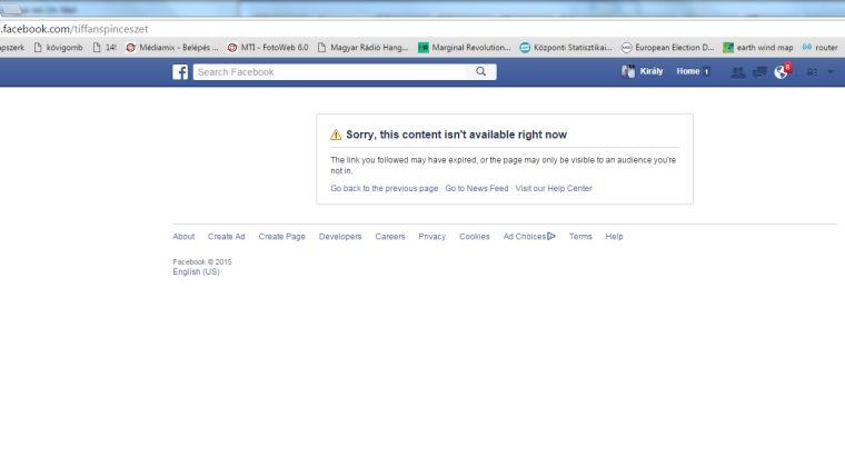 A véleménydiktatúra kicsinálta a Tiffán Borászat Facebook-oldalát