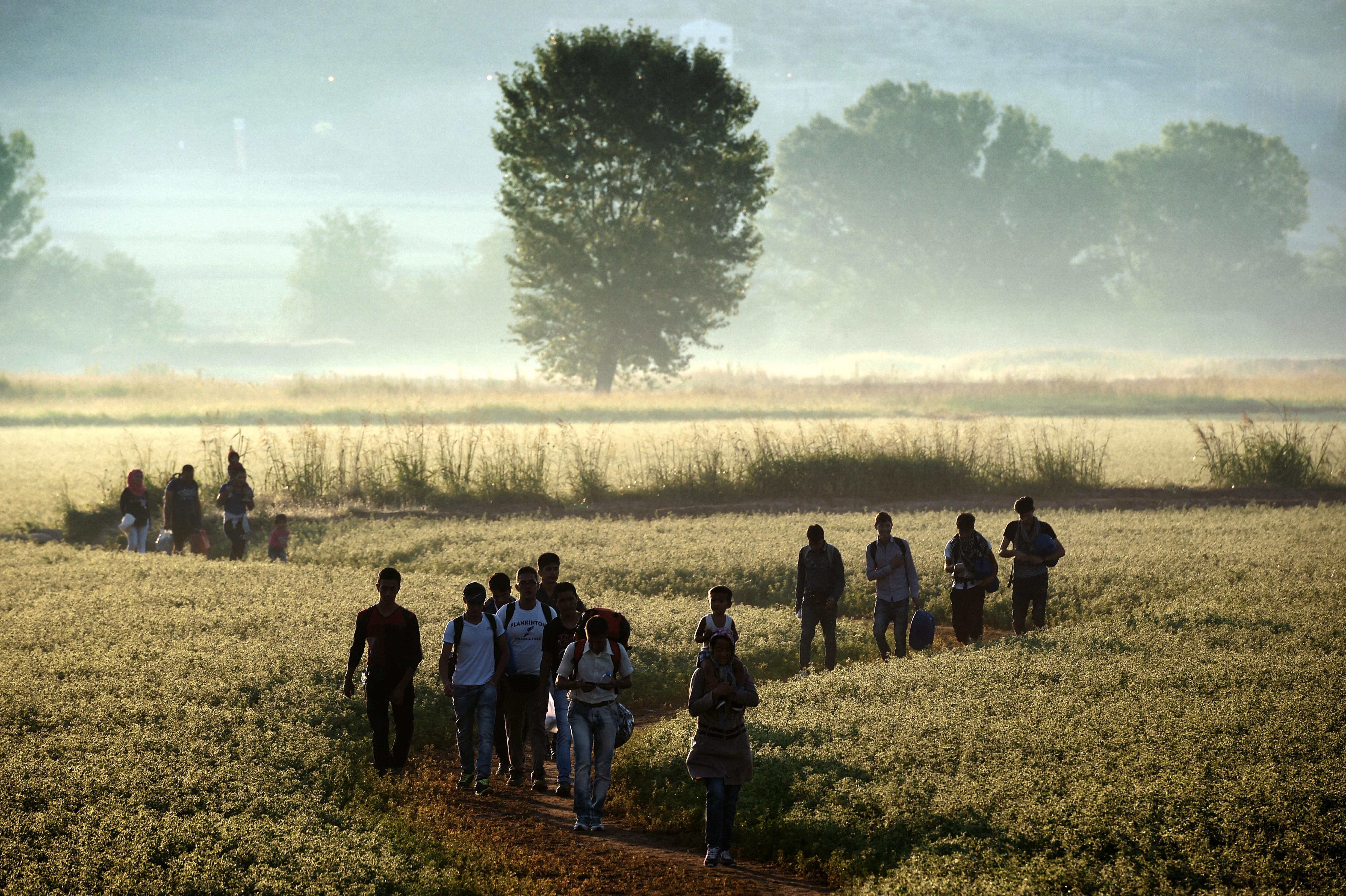 Lettországba érkezett az első befogadott szíriai család