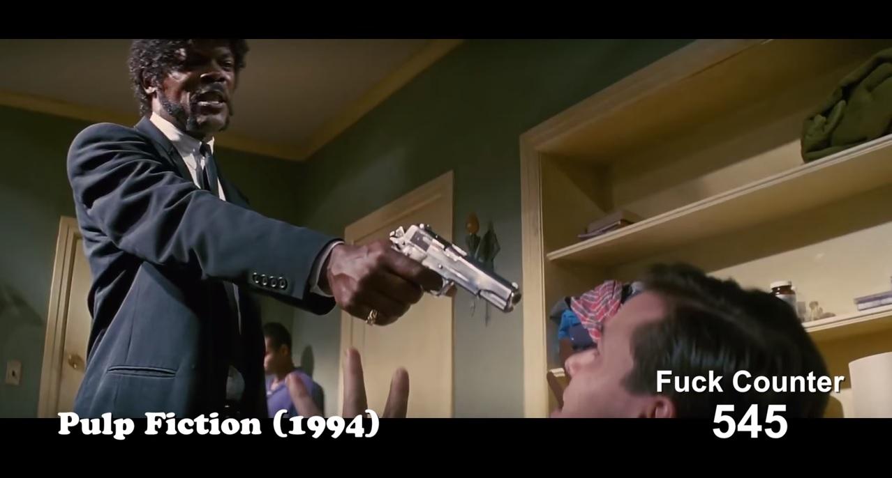 Az összes fuck az összes Tarantino-filmből