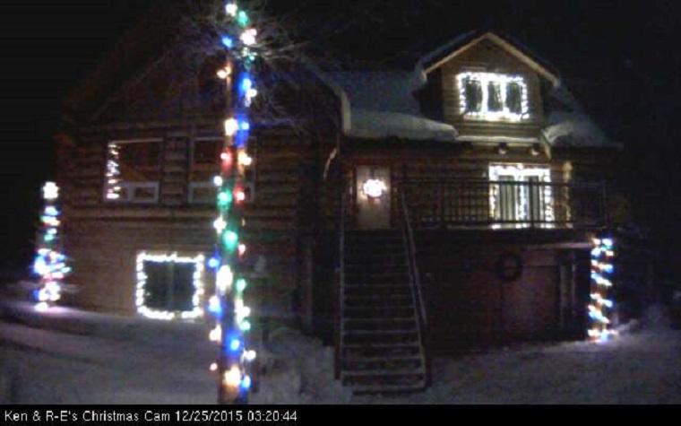 Te is kapcsolgathatod ennek az alaszkai háznak a díszkivilágítását