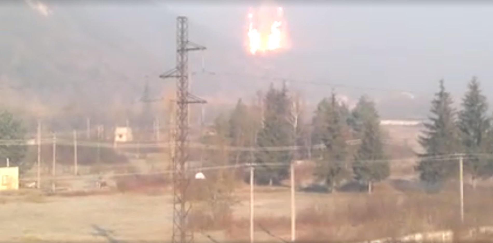 Felrobbant az Európát és Oroszországot összekötő gázvezeték Husztnál