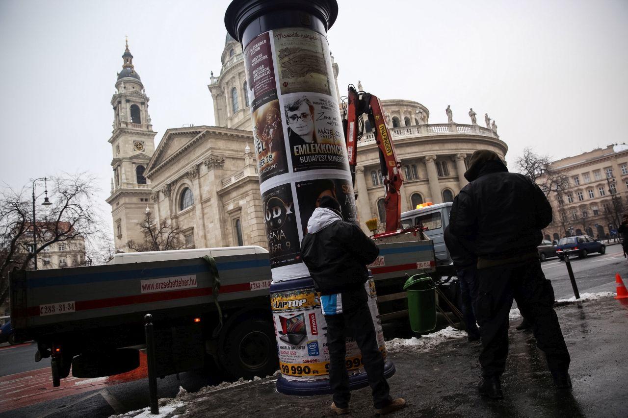 A Bazilikánál eszkalálódott a Nagy Budapesti Oszlopháború