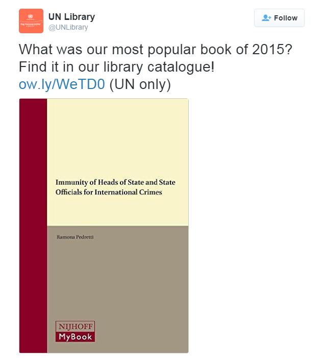 Íme, az ENSZ vezetőinek kedvenc olvasmánya: Hogyan mentesüljünk nemzetközi bűncselekmények vádja alól!